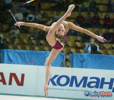 Image result for uncomfortable gymnastics funny